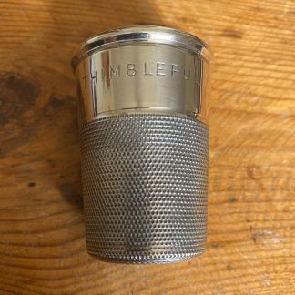 Charles Horner silver novelty whisky measure