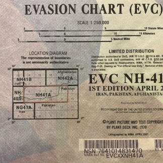 US Army Evasion Charts