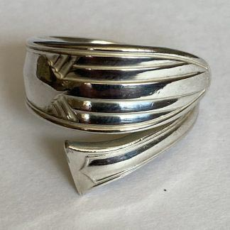 handmade silver ring recycled
