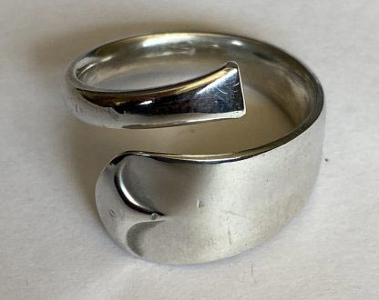 recycled silver ring