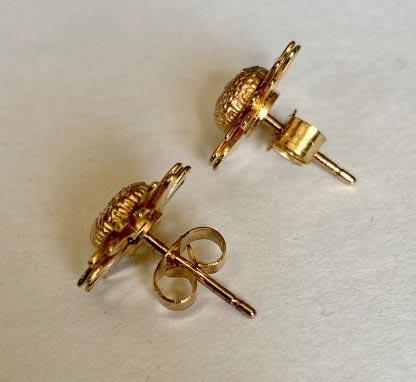 9ct gold clogau earrings