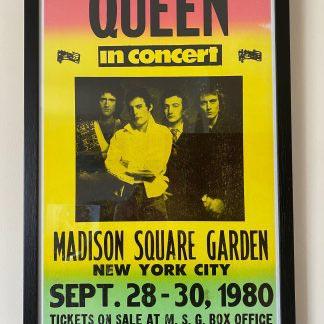 Queen tour poster