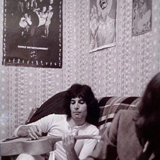 Freddie Mercury in Kensington flat