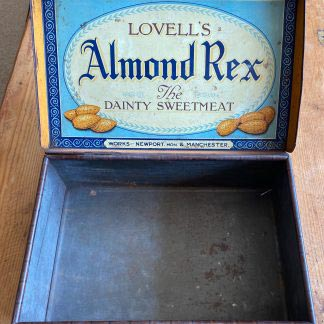 Vintage advertising suitcase