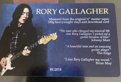 RORY GALLAGHER LP