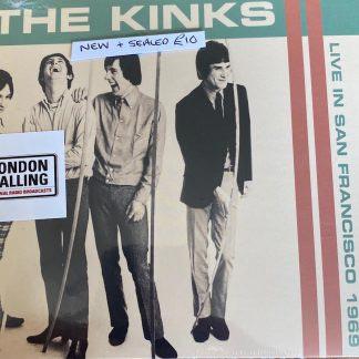 THE KINKS LIVE CD