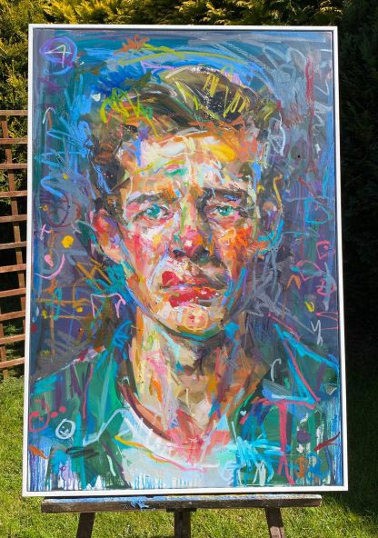 Paul Wright original artwork. 'Circus Boy'