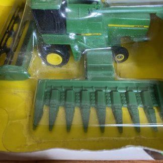 John Deere combine toy