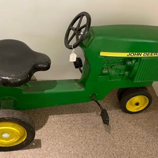 John Deere tractor pedal car