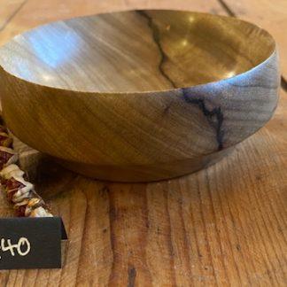 korina wood bowl