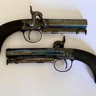 Victorian pair of police pistols